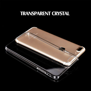 7plus Apple iPhone 6 /6plus/yeni PC kristal şeffaf sert plastik case arka kapak cilt/