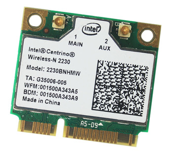 Intel Centrino Wireless-N 2230 Bluetooth 4.0 WİFİ 2230BNHMW Yarım mini PCI adaptör 300 Mbps