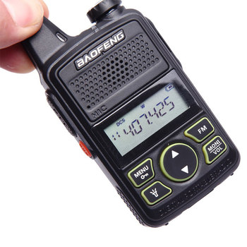 Körfez BF T1 Mini walkie talkie ultra ince mikro araba 400-470MHz Körfez Otel sivil walkie talkie 20 kanal